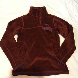 SOLD Patagonia brown fleece